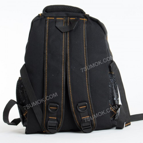 Чоловічий рюкзак 757 black