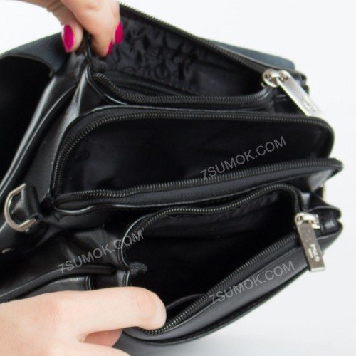 Чоловіча сумка B6686-2 black
