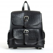 Жіночий рюкзак R011 black-crocodile-karmany