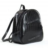 Жіночий рюкзак R022 black-crocodile