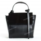 Жіноча сумка 037 big black-zamsha