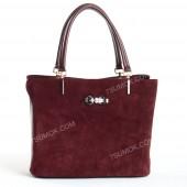Жіноча сумка 010M bordo-zamsha
