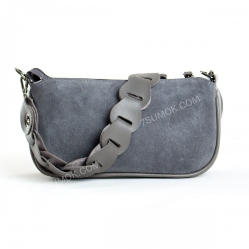 Клатч 093 gray-zamsha
