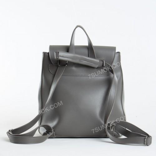 Жіночий рюкзак 021 gray