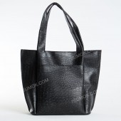 Жіноча сумка 162 black-crocodile