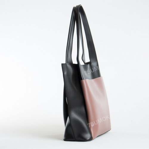 Жіноча сумка 162 black-pink
