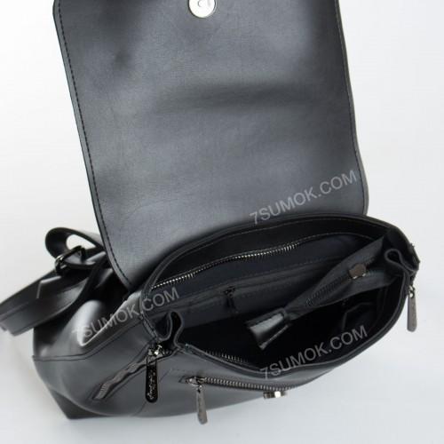 Жіночий рюкзак 021 black