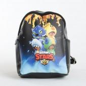 Дитячий рюкзак NW1023 Brawl Stars black-b
