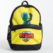 Дитячий рюкзак NW1024 Brawl Stars Leon black-yellow