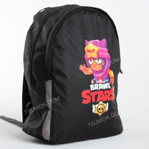 Дитячий рюкзак NW1025 Brawl Stars Sandy black