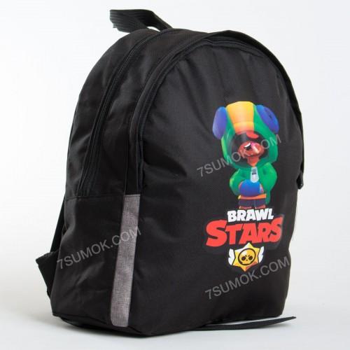 Дитячий рюкзак NW1025 Brawl Stars Leon black