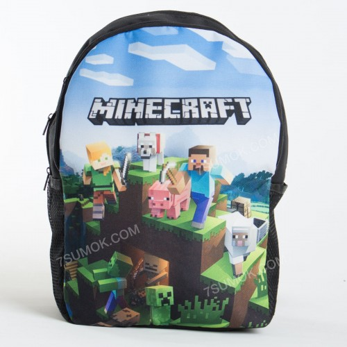 Дитячий рюкзак NW1029 Minecraft black