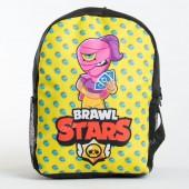 Дитячий рюкзак NW1029 Brawl Stars black-yellow
