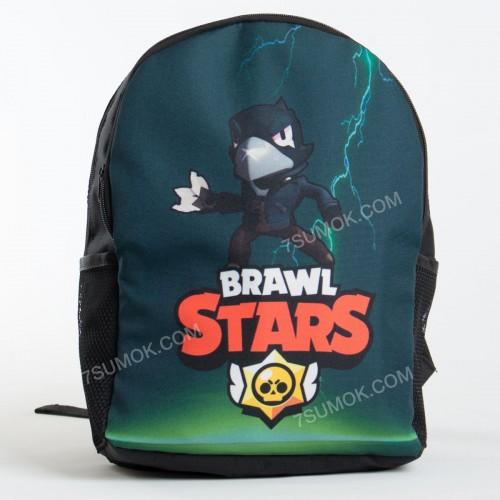 Дитячий рюкзак NW1029 Brawl Stars black-green