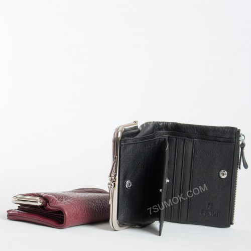 Жіночий гаманець 054 black