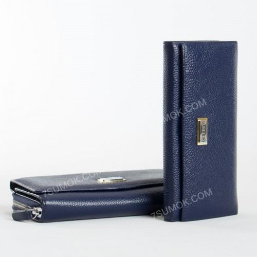 Жіночий гаманець 51-207 blue