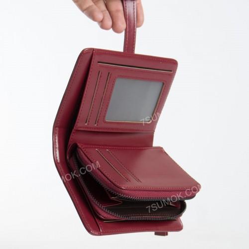 Жіночий гаманець C-2335-B wine red