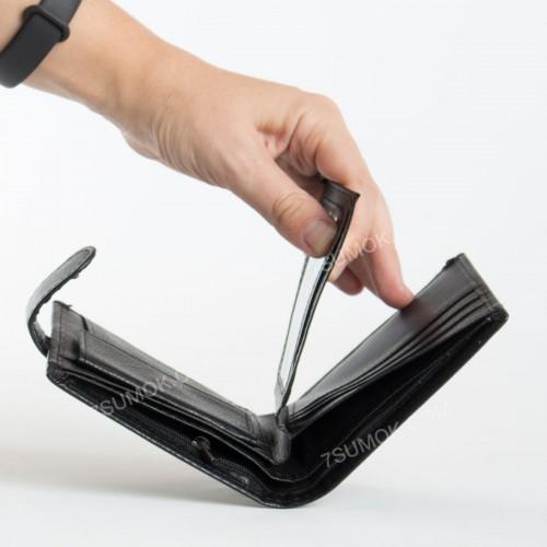 Чоловічий гаманець BL208-32P black