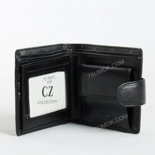 Чоловічий гаманець 208 black