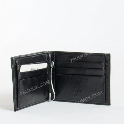 Чоловічий гаманець 0836 black