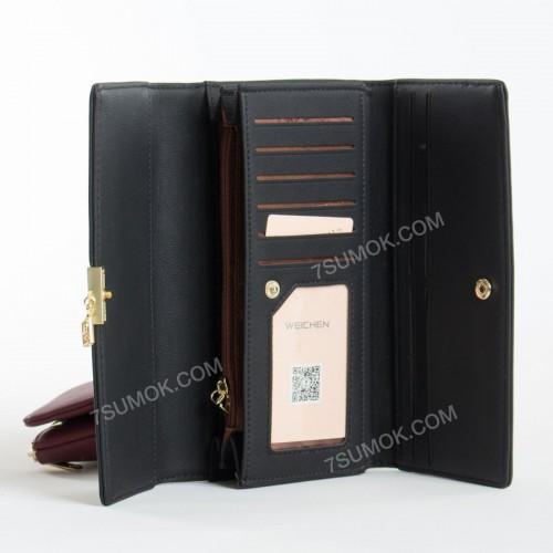 Жіночий гаманець 6901-028 black