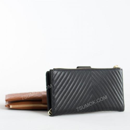 Жіночий гаманець 6902-012 black
