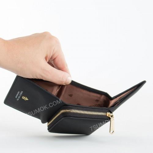 Жіночий гаманець 6905-010 black