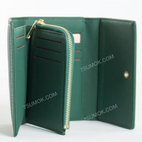 Жіночий гаманець 6925-001 green