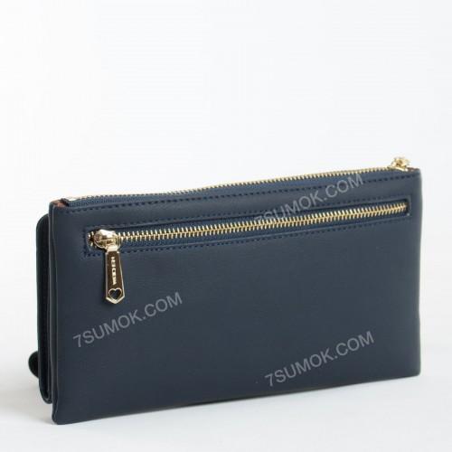 Жіночий гаманець 6931-002 dark blue