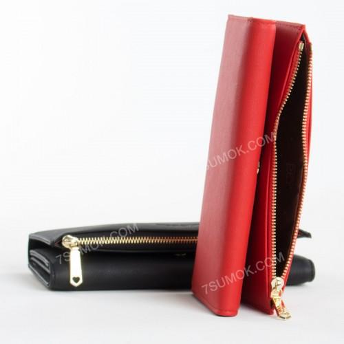 Жіночий гаманець 6948-002 red