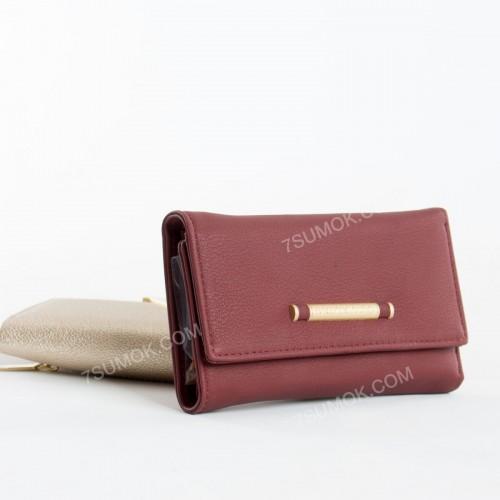 Жіночий гаманець 7370-46 bordo