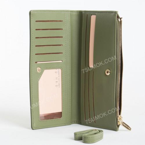 Жіночий гаманець 9599-10C green