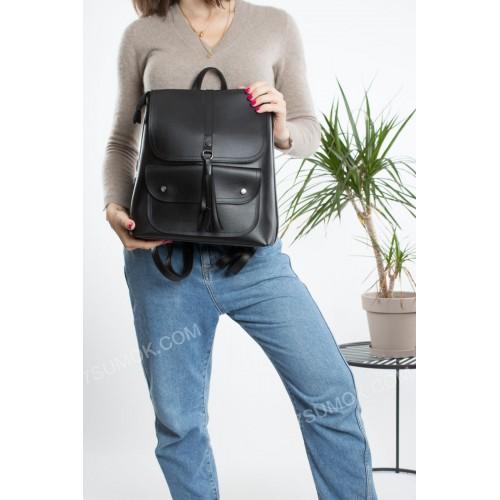 Жіночий рюкзак R023 black