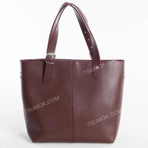 Жіноча сумка 094 bordo