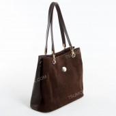 Жіноча сумка 026 coffee-zamsha