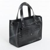 Жіноча сумка 064 black-crocodile