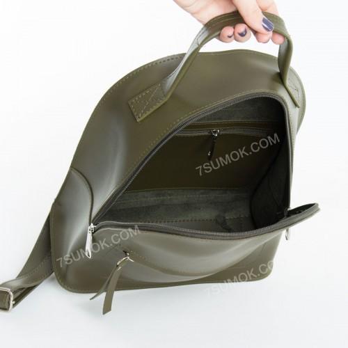 Жіночий рюкзак R021 olive
