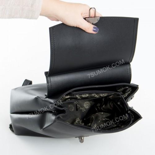 Жіночий рюкзак R017 black