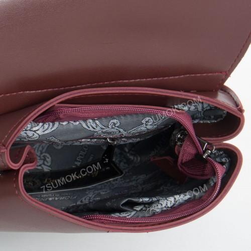 Жіночий рюкзак R013 mini bordo