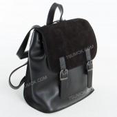Жіночий рюкзак R013 mini black-zamsha