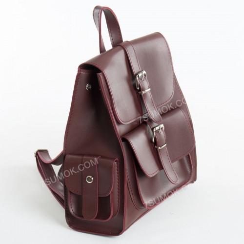 Жіночий рюкзак R011 bordo