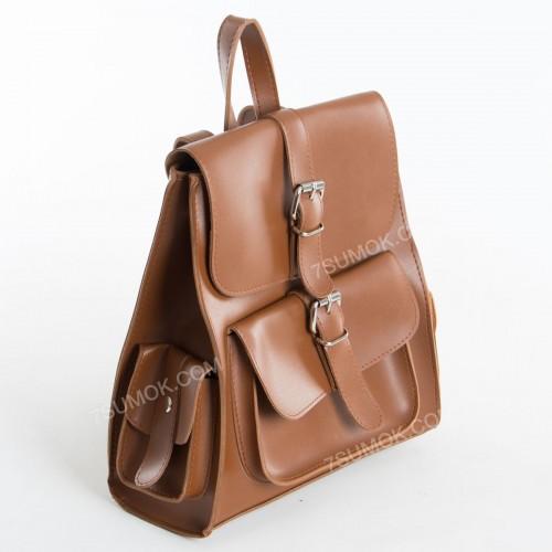 Жіночий рюкзак R011 brown