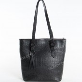 Жіноча сумка 098 black-crocodile