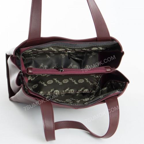 Жіноча сумка 084N bordo