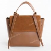 Жіноча сумка 037 big brown-zamsha