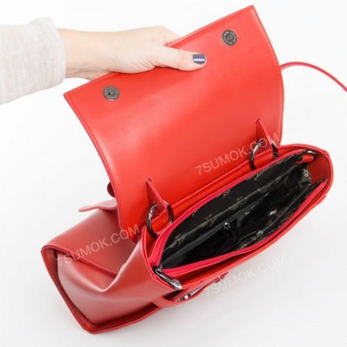 Жіноча сумка 037 big red