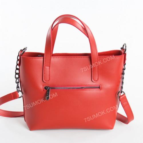 Жіноча сумка 112 red-zamsha