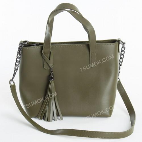 Жіноча сумка 112 olive