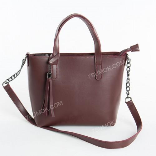 Жіноча сумка 112 bordo