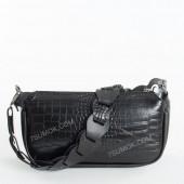 Клатч 093 black-crocodile